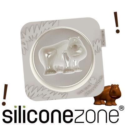 Siliconezone 施理康耐熱犀牛造型小蛋糕模