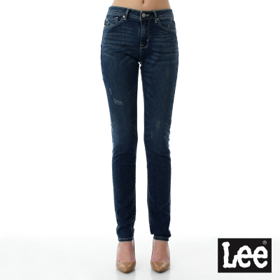 Lee 牛仔褲Jade Fusion冰精玉石 409 中腰合身小直筒牛仔褲-女
