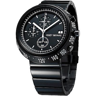 ISSEY MIYAKE 三宅一生TRAPEZOID 系列計時手錶(SILAZ001Y)