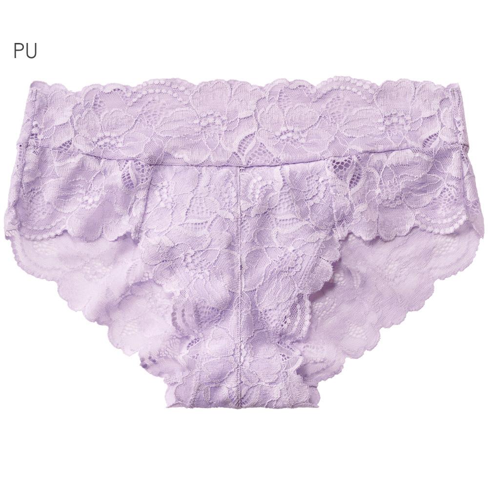 aimerfeel 全蕾絲包覆性感內褲-紫色