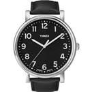 TIMEX 經典復刻冷光系列 三針腕錶-黑/42mm