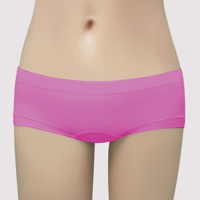 曼黛瑪璉-IceBar涼感  低腰平口無縫褲(亮麗紫)