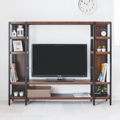 Home Feeling 電視櫃/層架收納/視廳櫃-170x30x140cm