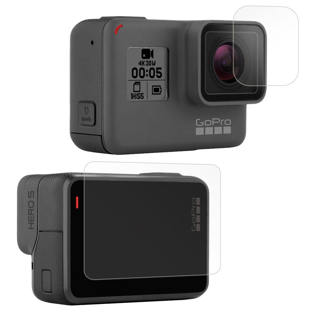 [時時樂限定]GoPro HERO5 相機鏡頭+觸控螢幕 光學抗刮螢幕保護貼