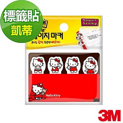 3M 利貼狠黏Kitty造型標籤紙 (670-4KR)
