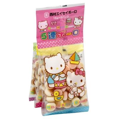 #西村衛生 Kitty饅頭餅乾(75g)