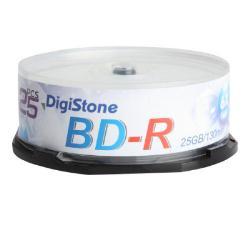 DigiStone 國際版 A+ 藍光 6X  BD-R 25GB 桶裝 (100片)