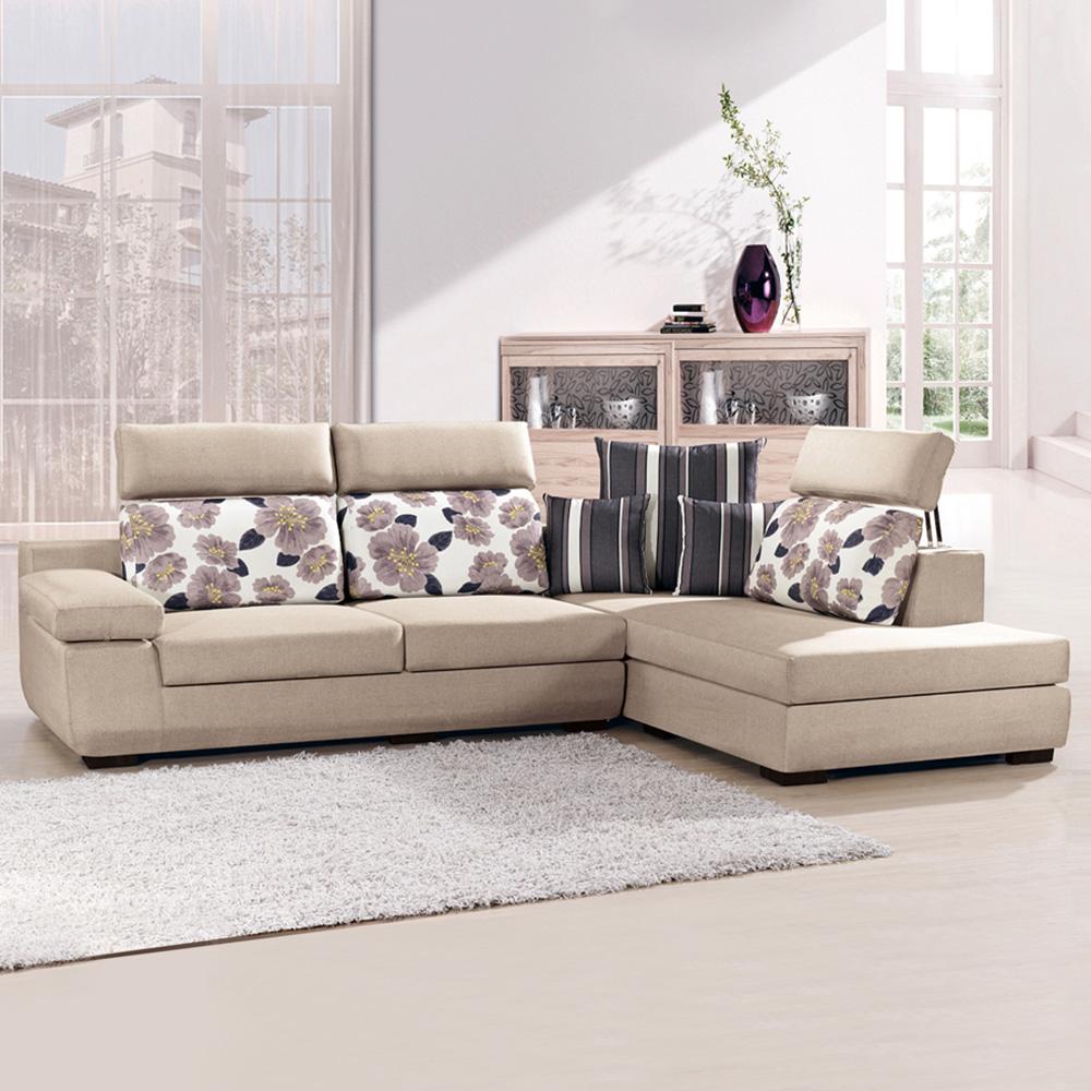 典雅大師 荷田雅緻L型舒適布沙發