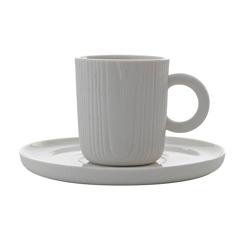 TOAST MU 濃縮咖啡杯盤組(白)