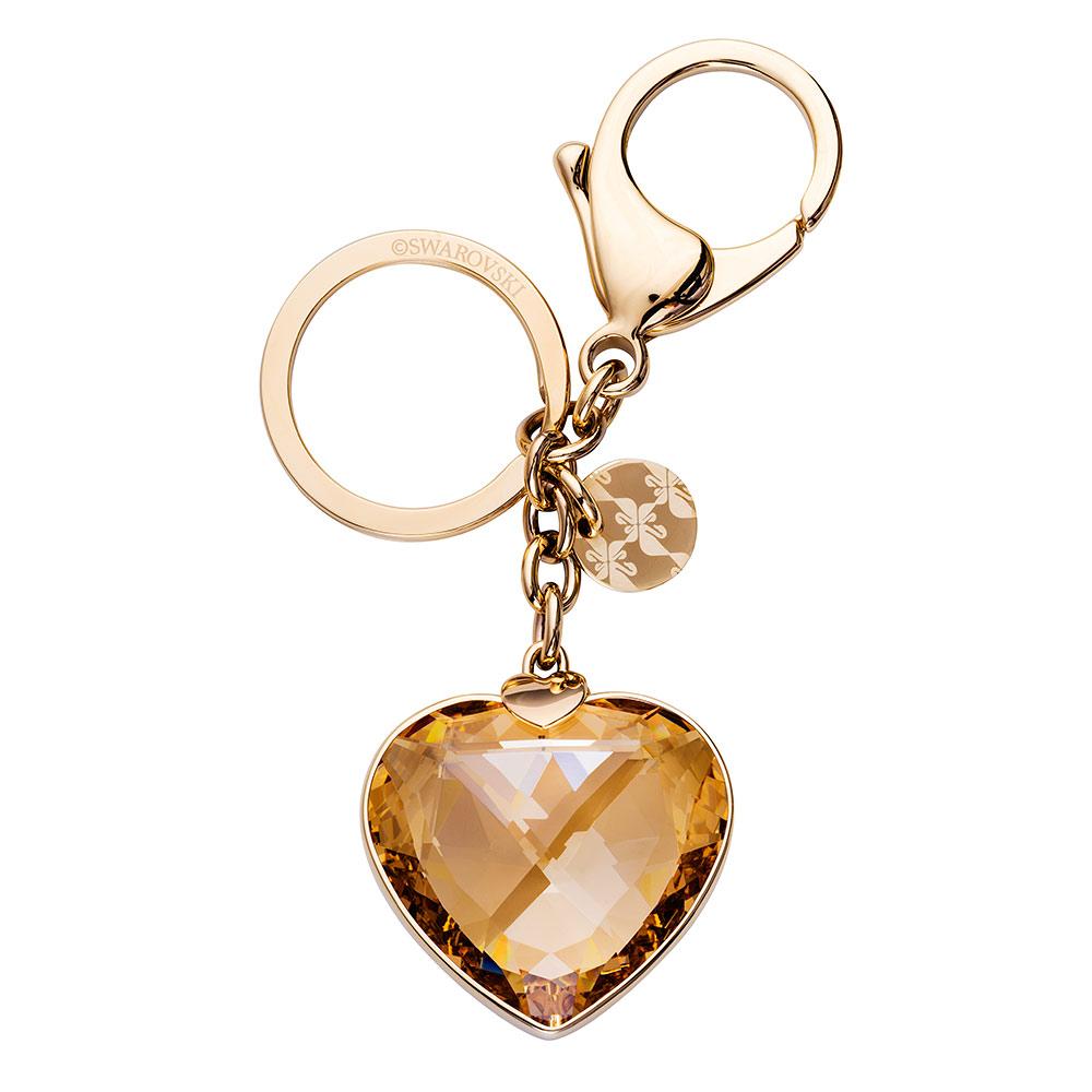 SWAROVSKI 施華洛世奇 Heart水晶鑰匙圈