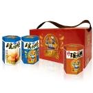 幸福小胖海洋王宮尊爵禮盒原味2盒(瑤柱燒x2+小卷x1/盒)