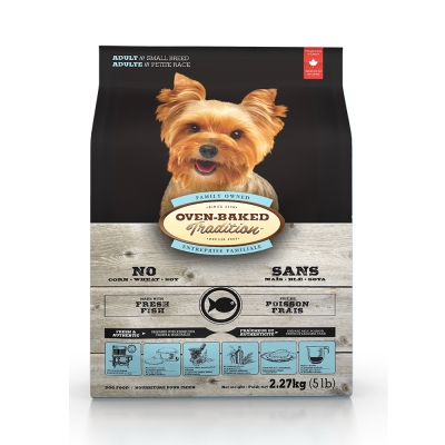 Oven-Baked烘焙客 成犬魚肉配方 低溫烘焙 非吃不可 12.5磅
