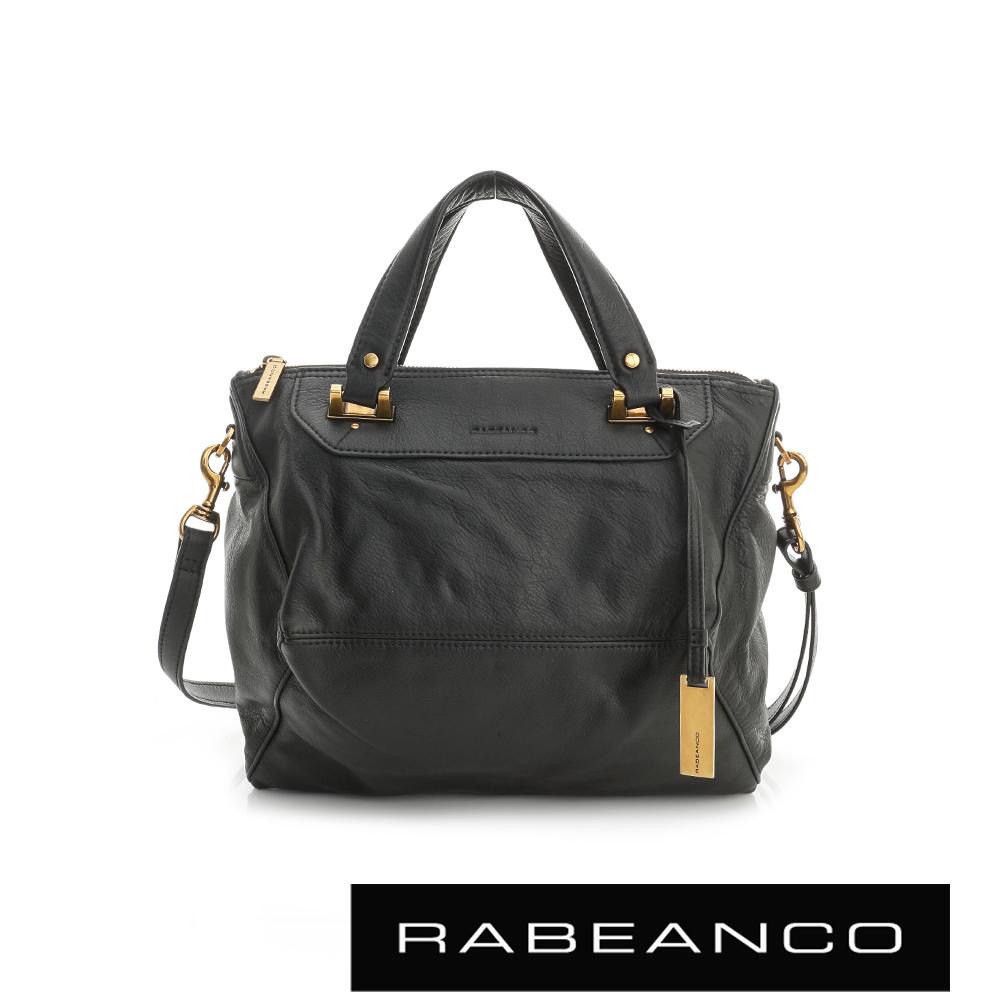 RABEANCO OL時尚粉領系列菱形包(小) - 黑