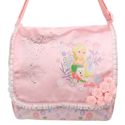 芭比Barbie-滿園花開側背包