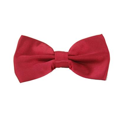 Alpaca 紅色基本款領結