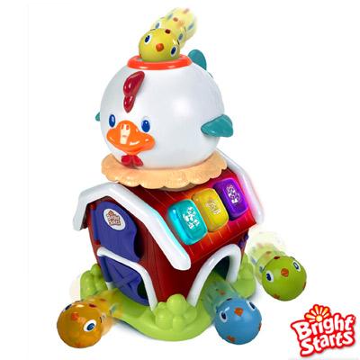 Kids II- Bright starts 來玩球吧-開心小雞學習屋