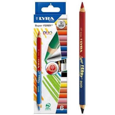 德國LYRA - 三角雙頭彩色鉛筆(12色)