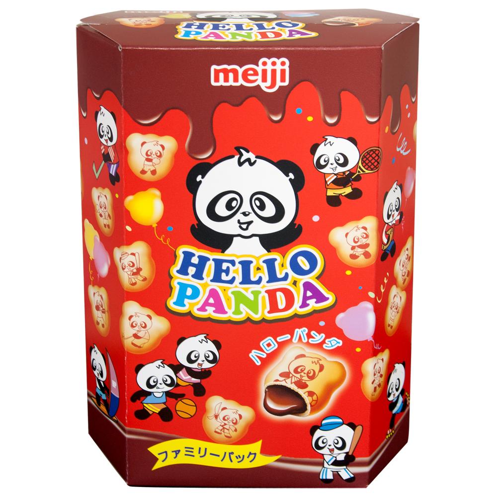 明治 HELLO PANDA貓熊巧克力夾心餅乾(175g)