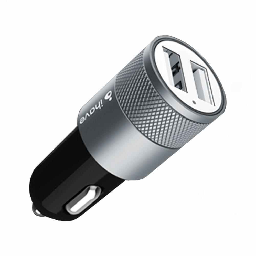 ihave id0201 雙USB2.1A快速雙接頭車充