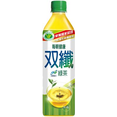 每朝健康 雙纖綠茶(650mlx4入)