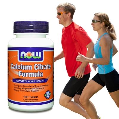NOW健而婷-黃金六效-加強鈣配方食品-100顆