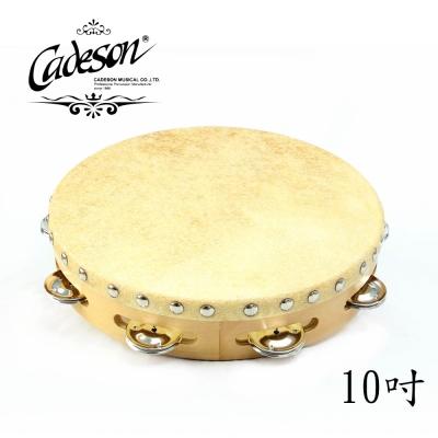 CADESON TO11-10 10吋單排繃皮鈴鼓