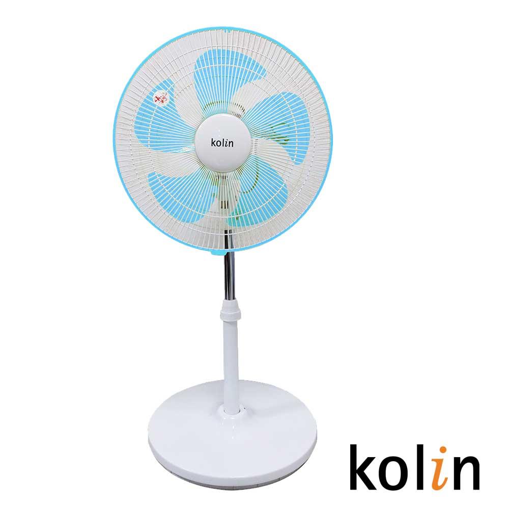 歌林kolin-14吋涼風桌立扇KF-SH14A06-藍色