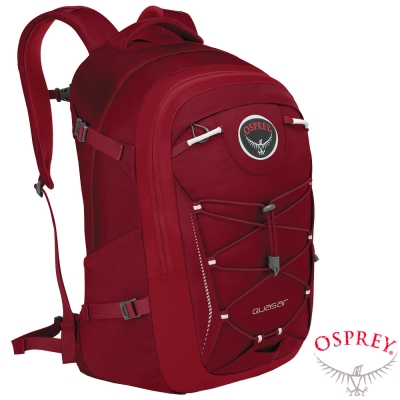 【OSPREY】新款 Quasar28 輕量多功能背包/電腦背包_ 紅