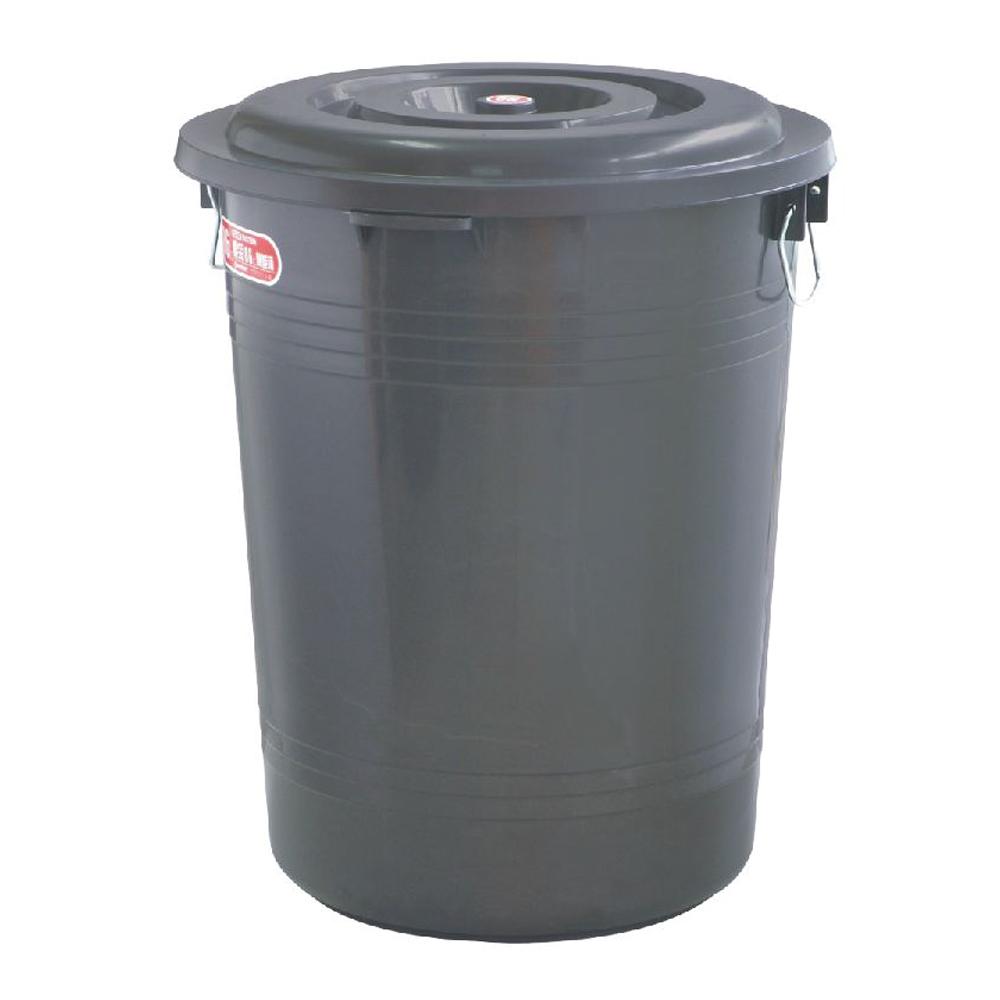 綠生活 46L萬能桶/儲水桶/垃圾桶(顏色隨機出貨)