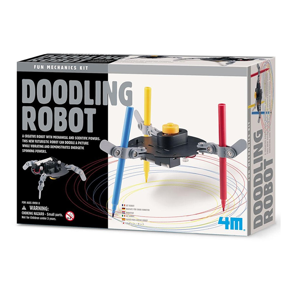 《4M科學探索》Dooding Robot 塗鴉機器人