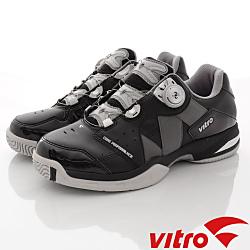 Vitro韓國專業運動品牌-RANKERS2.0BOA專業網球鞋-黑(男)