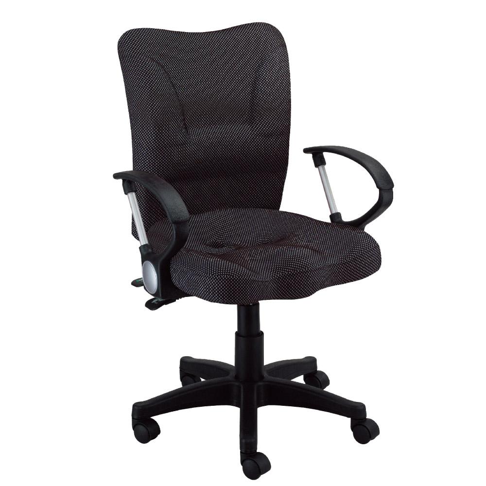 GD綠設家 克菲兒亞麻布辦公椅-59x40x92cm免組