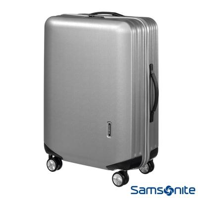 Samsonite新秀麗 28吋 Inova T型拉桿TSA輕量硬殼登機箱(銀)