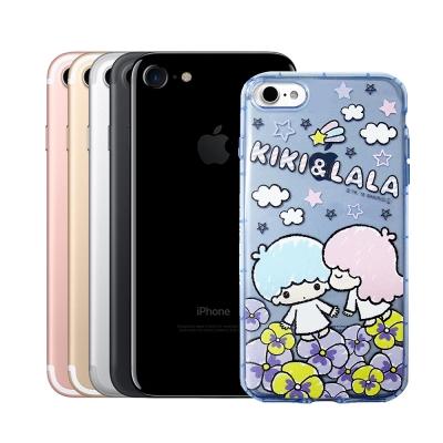 三麗鷗KiKiLaLa雙子星 iPhone 8/iPhone 7 防震空壓殼(雙...
