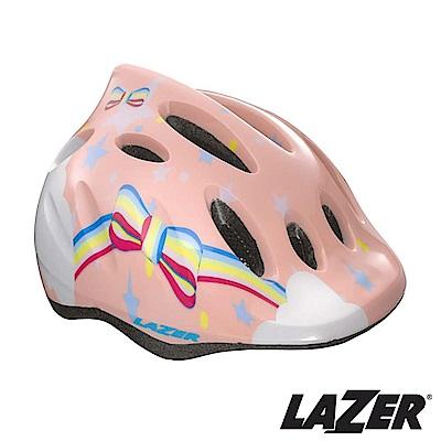 LAZER比利時MAX自行車兒童安全帽49-56cm彩虹公主