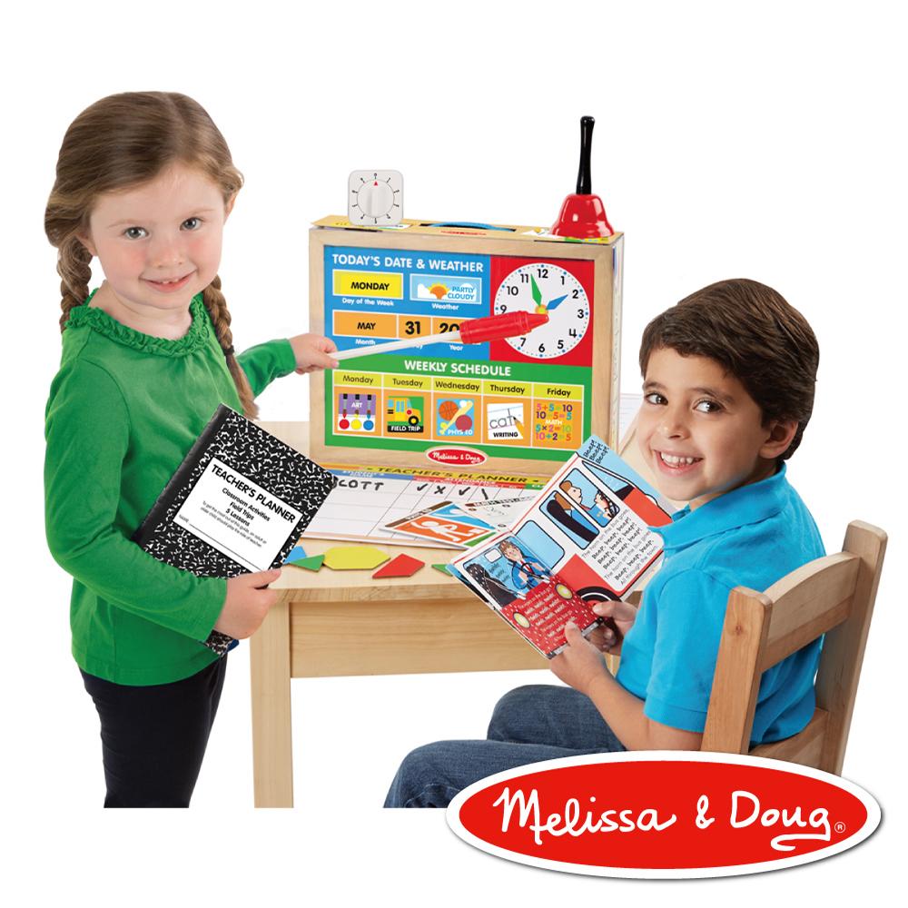 美國瑪莉莎 Melissa & Doug 角色扮演 學校遊戲組 - 上課囉!