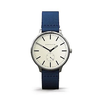 Newgate-BLIP-經典小秒針-海軍藍-帆布錶帶-40mm