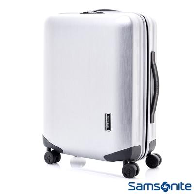 Samsonite新秀麗-25吋-Inova-T型拉桿TSA輕量硬殼登機箱-珍珠白