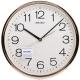 SEIKO 金色光感外框 時鐘 掛鐘(QXA020A)-36.1cm product thumbnail 1