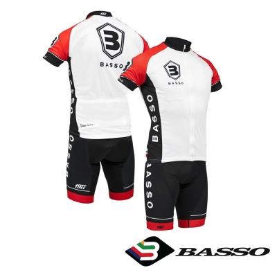 義大利BASSO-成套吊帶車衣褲-1977特仕款