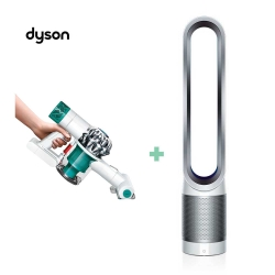 Dyson V6 mattress手持吸塵器+涼風空氣清淨