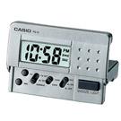 CASIO 輕巧隨身型數字電子鬧鐘(PQ-10D-8)-灰