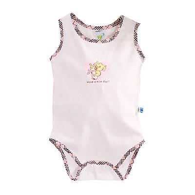 純棉無袖包屁衣 k50622 魔法Baby