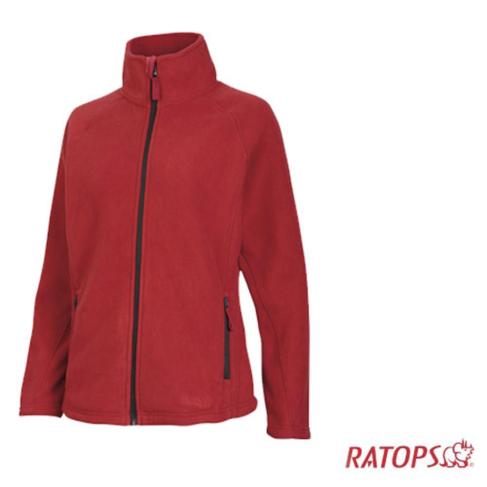 【瑞多仕】女款 Thermolite 推毛防潑水夾克_DH6123 玫瑰紅色 V1