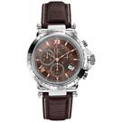 Gc 別緻典藏計時腕錶-咖啡x皮帶/40mm
