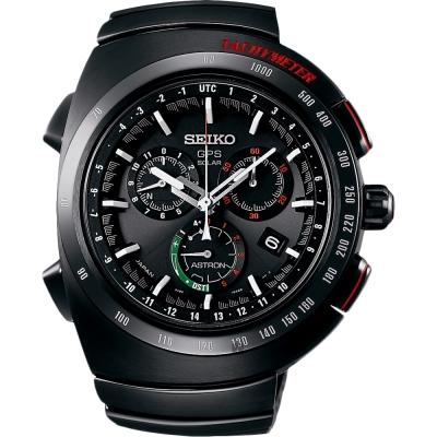 SEIKO精工 Astron 異形 Giugiaro Design 聯名鈦金屬限量錶