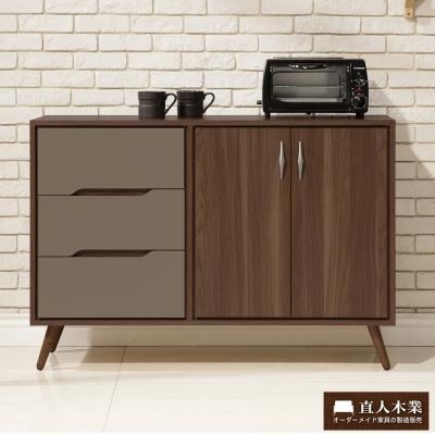 日本直人木業傢俱- Italy簡約120CM廚櫃(120x40x85cm)