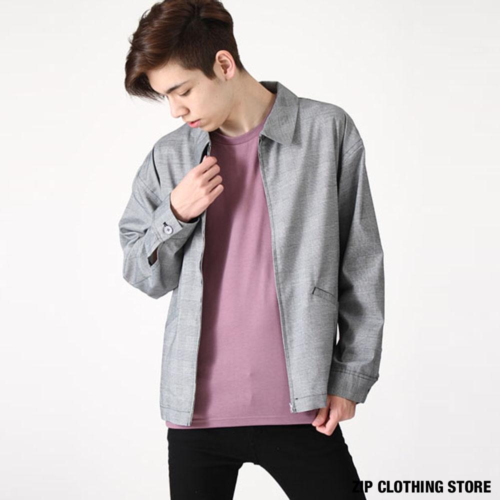 時尚布勞森外套3色ZIP日本男裝