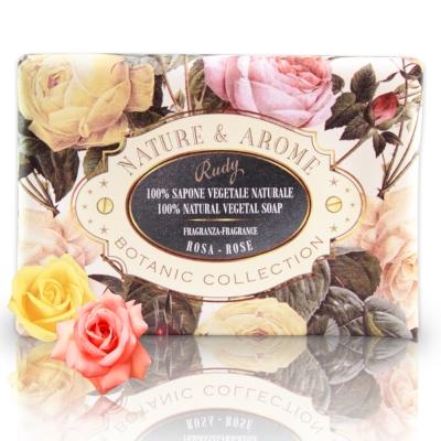 義大利Rudy米蘭古典玫瑰花保濕香皂150g