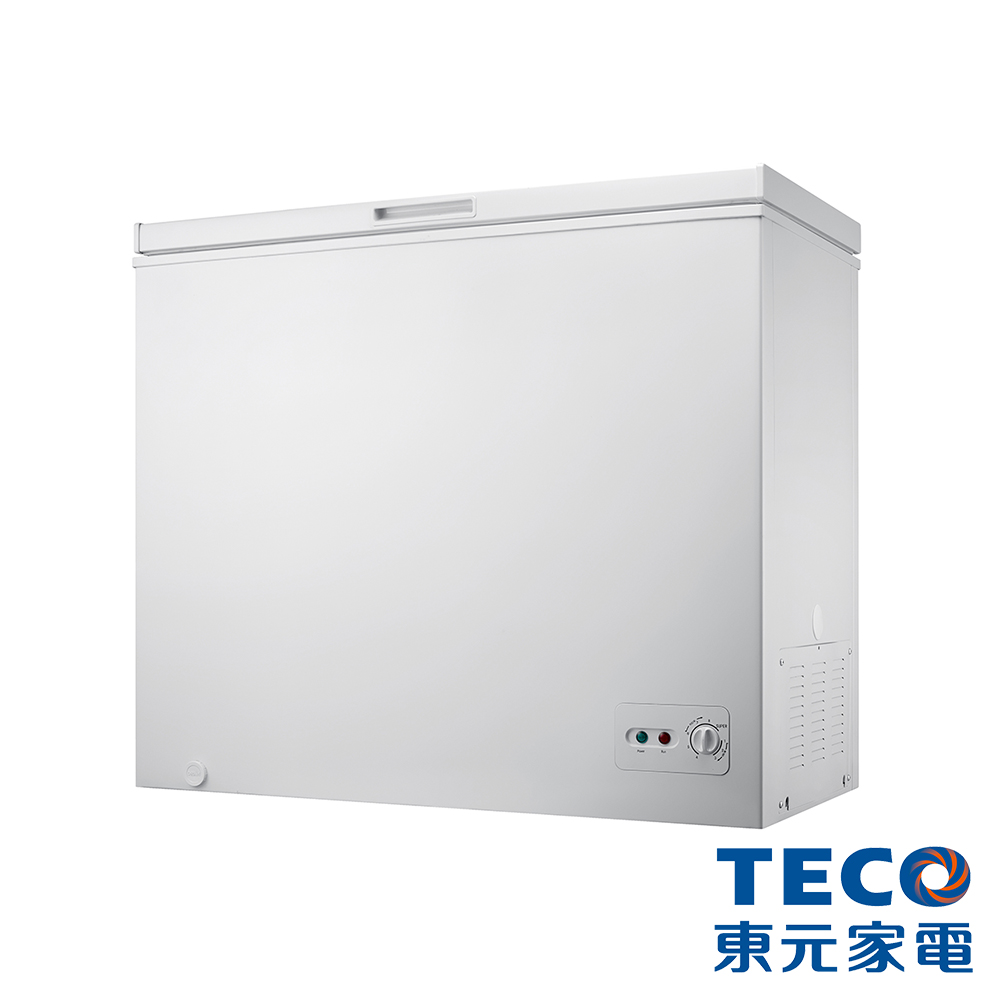 TECO東元142公升上掀式單門冷凍櫃RL1481W